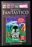 GRAPHIC NOVELS MARVEL CLÁSSICOS N° 05 - QUARTETO FANTASTICO