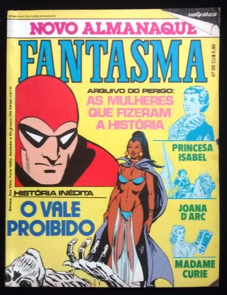 ALMANAQUE DO FANTASMA N° 030