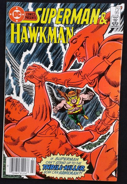 DC COMICS PRESENTS: SUPERMAN AND HAWKMAN N° 95